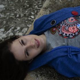 T-shirt με Πολύχρωμους Κύκλους