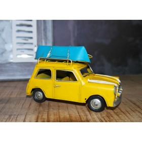 Vintage Κίτρινο Mini Cooper