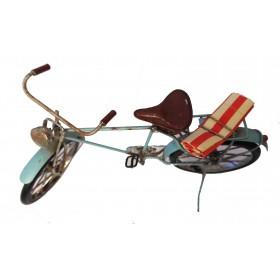 Θαλασσί Μεταλλικό Ποδήλατο