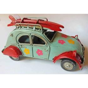 Θαλασσί-Κόκκινο  Vintage Αυτοκινητάκι