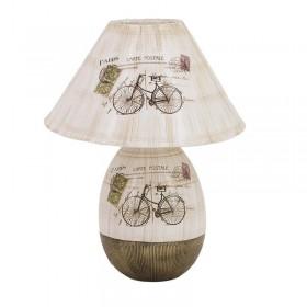 """Επιτραπέζια, Κεραμική Λάμπα """"Ποδήλατο"""""""