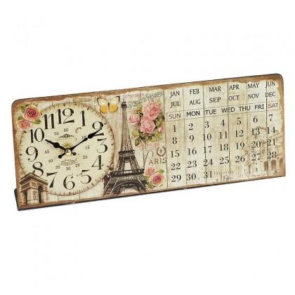 Ρολόι / Ημερολόγιο Επιτραπέζιο
