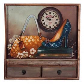 Ξύλινο Επιτραπέζιο Ρολόι - Πίνακας