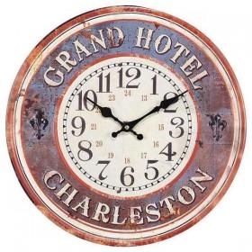 Παλιό Μεταλλικό Ρολόι Grand Hotel