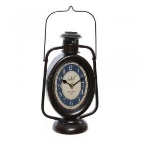 Μαύρο Μεταλλικό Επιτραπέζιο Ρολόι