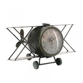 Μεταλλικό ρολόι Αεροπλάνο / Επιτραπέζιο