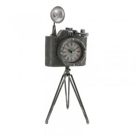 Μεταλλικό Ρολόι Κάμερα / Επιτραπέζιο