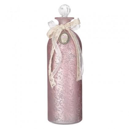 Μπουκάλι Γυάλινο Ροζ