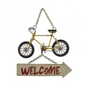 """Διακοσμητική Πινακίδα  """"Welcome"""""""