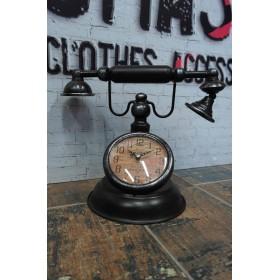 Vintage Ρολόι-Διακοσμητικό Τηλέφωνο