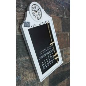 Άσπρο Ημερολόγιο-Ρολόι