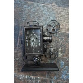 Μεταλλικό Ρολόι Κινηματογραφική Μηχανή
