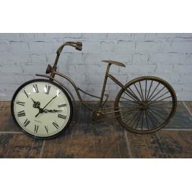 Μεταλλικό Ρολόι-Ποδήλατο
