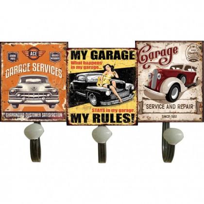 Κρεμάστρα Garage Μεταλλική