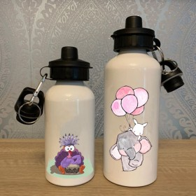 εκτύπωση σε μετταλικό μπουκάλι