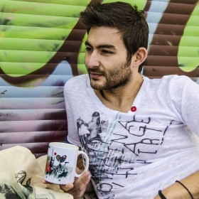 """Vintage Boy"" T-shirt με Κουμπιά"